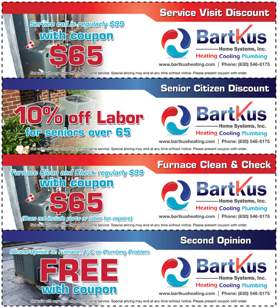 Bartkus Heating and Air Conditioning - Specials and Coupons